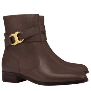 Tory Burch booties Gemini link rose gold size 10 m